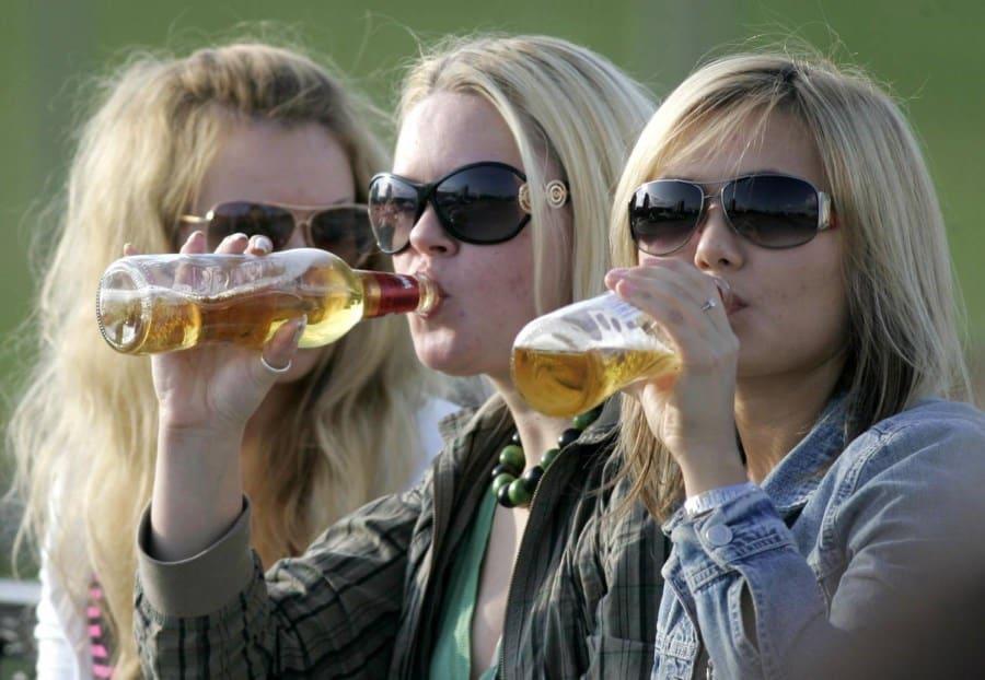 Детский алкоголизм в Украине