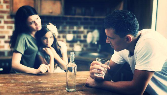 Алкоголизм в семье - Данко.